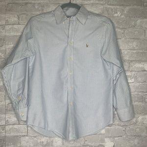 Ralph Lauren Boys Oxford Button Down Shirt